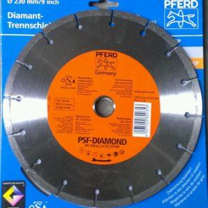 CUTTING DISC DIAMOND WDIY-9''-DS 230X2.3T'